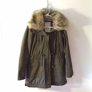 48% Off Zara Outerwear - ZARA Trafaluc Leather Jacket Size Small NWOT From Victoriau0026#39;s Closet On ...