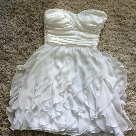 Arden b white dress medium