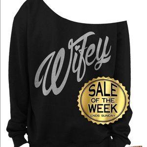 Sweaters - Wifey Sweatshirt