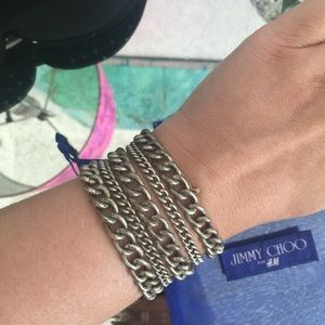 Jimmy Choo for H&M Multi-chain bracelet