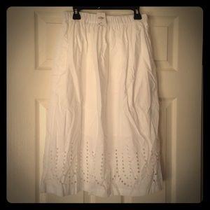 New White Iliac Skirt, Weekend price drop!