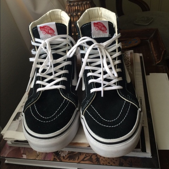 6a7660d09a Vans Sk8 Hi Slim Fit Elementally