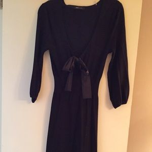 BCBG Max Azria sweater dress with satin bow