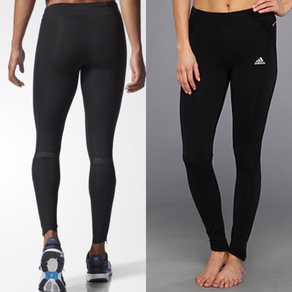 e424e9f2a73a Adidas Pants - ADIDAS Women s TechFit Black Running Tights