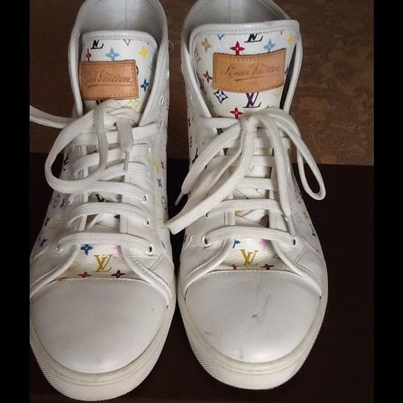 428e76b4e58de 💯Authentic Louis Vuitton Women's Hightop Sneakers