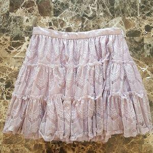Forever 21 Lace Miniskirt