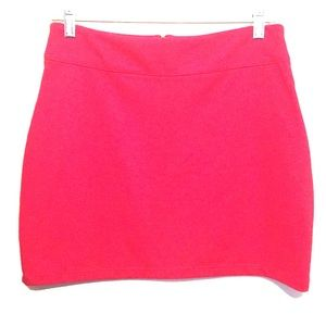 BDG Dresses & Skirts - Urban Outfitters BDG Stretch Red Mini Skirt