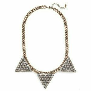 "BaubleBar ""Warrior Triad"" Necklace NWOT"