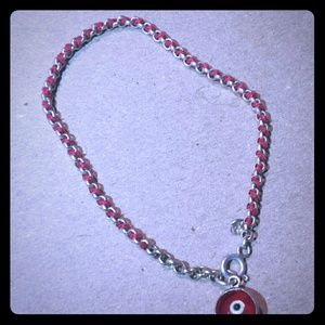 Red Evil Eye Bracelet. Negotiable!