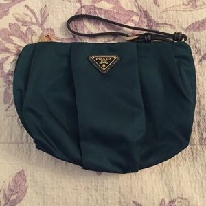 Prada wristlet on Poshmark