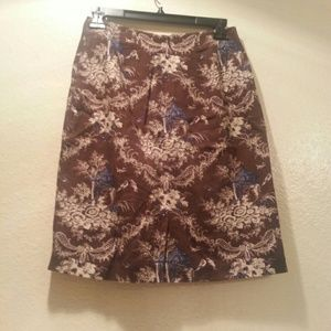 Talbots Dresses & Skirts - Vintage Talbots Brown Skirt