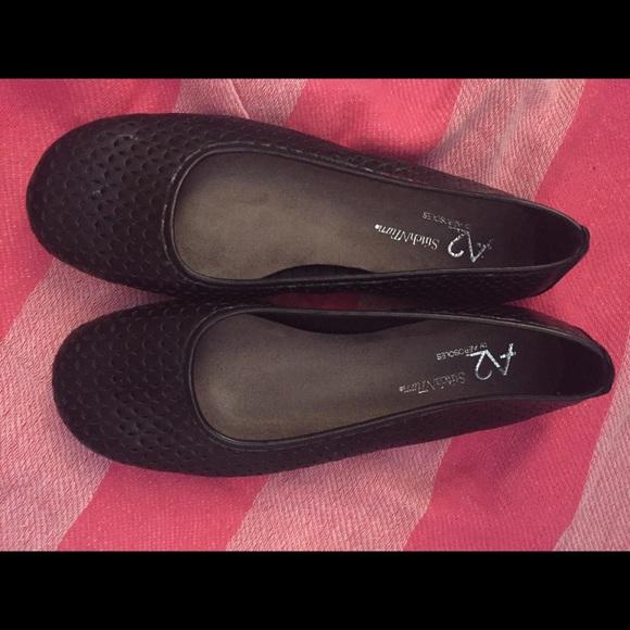 a247127e96e AEROSOLES Shoes - Stitch N Turn A2 by Aerosoles Black Flats
