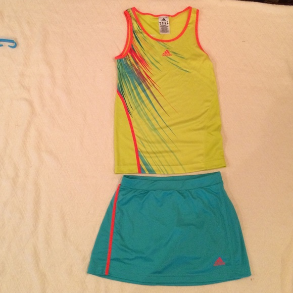 df9c133d8dd Adidas Other | Tennis Outfit Adizero Girls Size Large | Poshmark