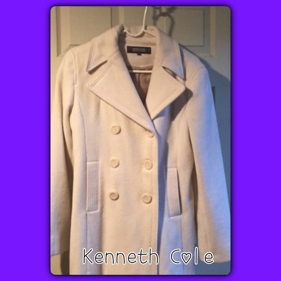 Kenneth Cole Jackets & Blazers - 💗Last chance sale💗Kenneth Cole wool Peacoat
