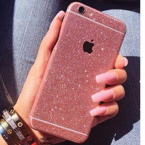 custodia iphone 6 glitterate