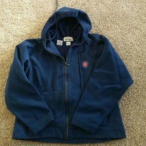 Antigua Tops - Blue Cubs Hooded sweatshirt