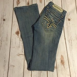 💛LIKE NEW! Rock Revival Boot Cut Jeans💛