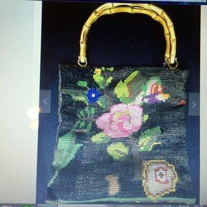 Handbags - Vintage Crosstitch handbag