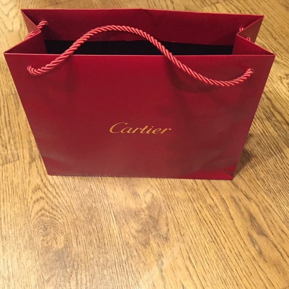Cartier - Small Cartier shopping bag. Authentic. from Heather's ...