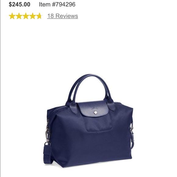 220a33c30c9e Longchamp Handbags - Longchamp Le Pliage Neo Medium tote