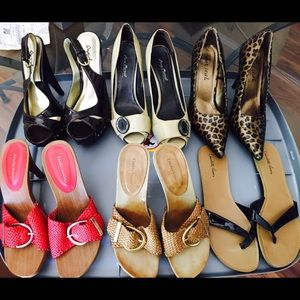 Women's shoes, all size 8
