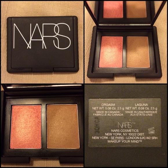 71% off NARS Accessories - NARS Mini Blush/Bronzer Duo - Orgasm ...