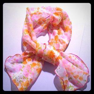 60's neck scarf