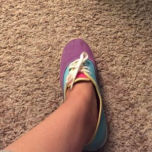 keds Shoes - Purple,turquoise, and yellow keds!!!