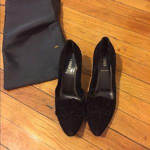 FENDI Shoes - Vintage 100% auth Fendi black pumps