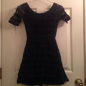 濾BLACK FRIDAY SALE! Navy Blue Lace Dress!濾