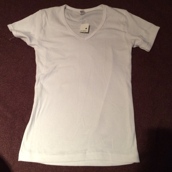 88 Off American Apparel Tops Nwt American Apparel White