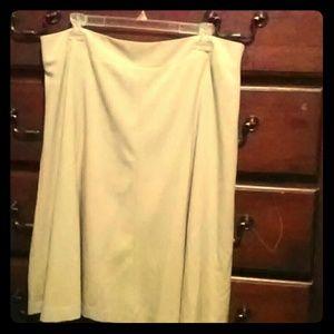 Beige Covington Skirt