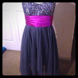 Prom dress purple under armour