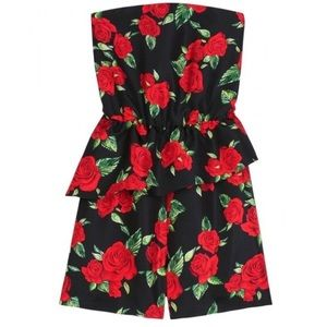 5835bc4a4f6 Alice + Olivia Dresses - Alice + Olivia and rose pink singer ruffle romper