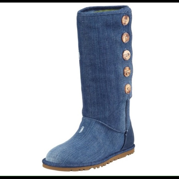 UGG Shoes   Denim Ugg Boots   Poshmark