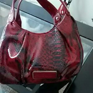 Nine West. skin patent leather handbags