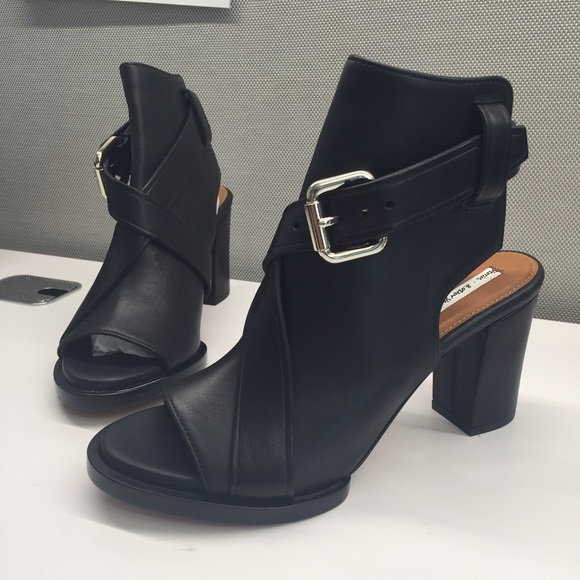 d43d10f34 other stories black leather open ankle bootie. M_55f6e643522b450099018bad