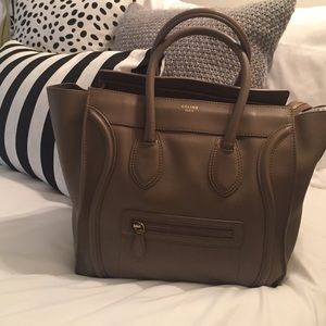 Celine Handbags - 100% Authentic Celine Mini Luggage