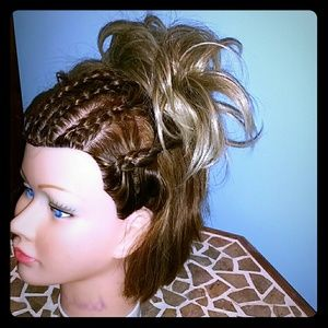 Accessories - Hair Extensions Blonde Pony Tail Wrap