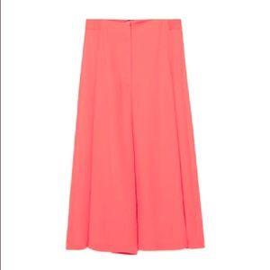 Zara Coral Culottes
