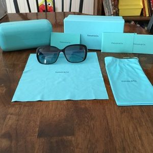 fcffbb144f86 Tiffany   Co. Accessories - Tiffany TF4092 Blue Core Tiffany Twist  Sunglasses