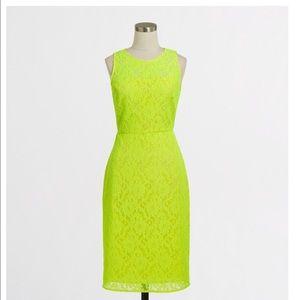 J Crew Factory Lace Dress