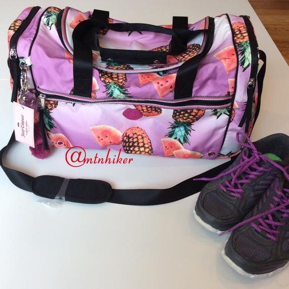 Juicy Couture Weekender Gym Bag NWT