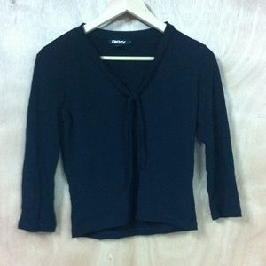 Dkny black shirt, perfect for work and going out