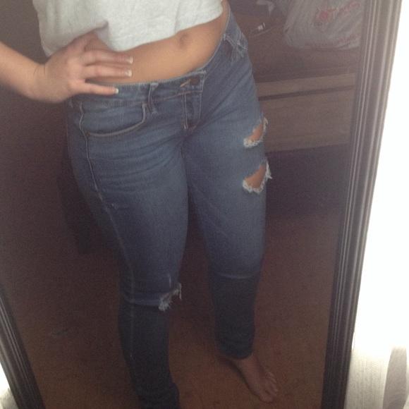 hollister jeans size 9