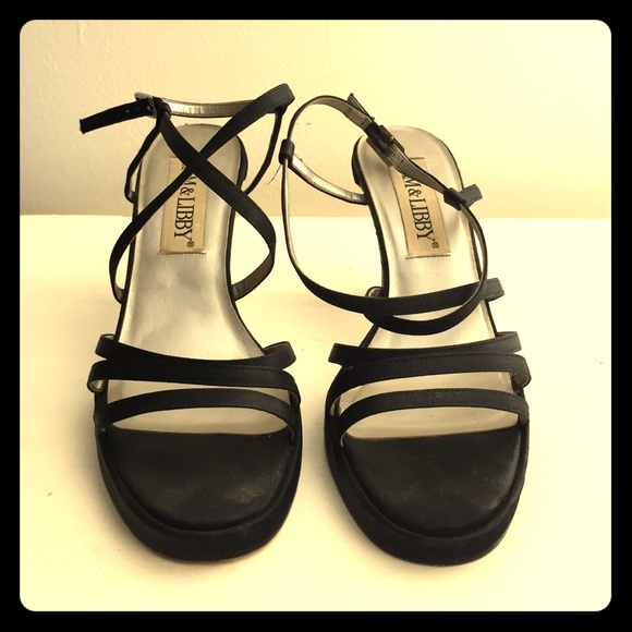 b083faa3dfd Black Sam   Libby Heels. M 55f73927f0137d476101aec5. Other Shoes you may  like. Vintage 90s ...