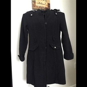 Tally Weijl Jackets & Blazers - Black full-body coat