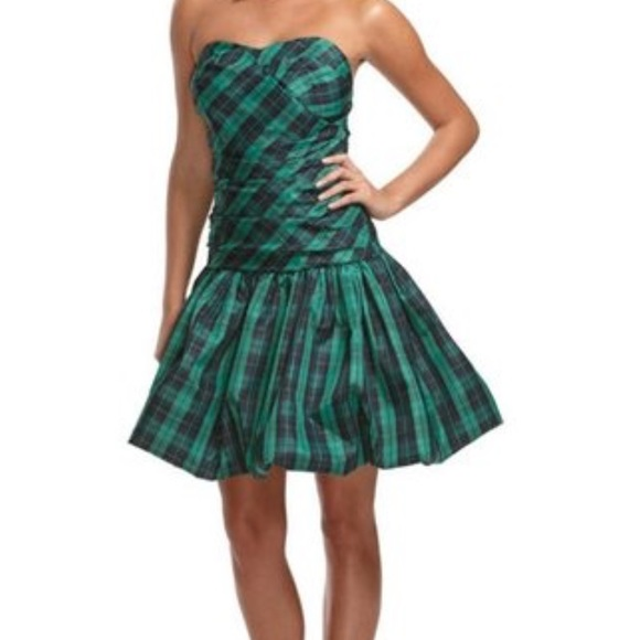 d4aaab25a8 Luella for Target Dresses   Skirts - Luella for Target Strapless Tartan  Plaid Dress