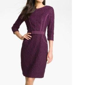 Taylor Dresses & Skirts - Taylor Eggplant Purple Lace Dress 4
