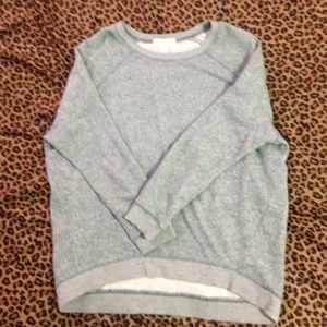 Light blue pullover sweater